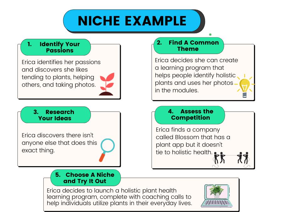 Niche blog example